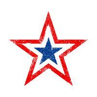 Ícone de vetor de estrela da América