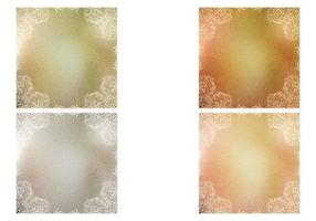 Pacote de vetores de textura metálica Swirly