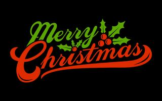 Feliz Natal texto font gráfico vetor