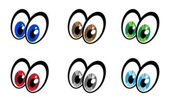 Ícone de vetor de olho