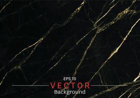 Mármore do ouro, teste padrão do vetor com textura dourada da folha no fundo preto e escuro.