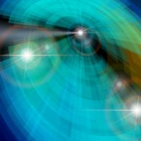 Aura abstrata brilhando de fundo vector círculo