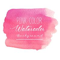 Fundo rosa aquarela abstrata. Ilustração vetorial