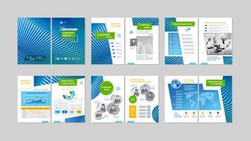 Design criativo de brochura