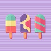 Vetor de sorvete de verão