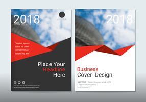 Design de capas com espaço para o fundo da foto.