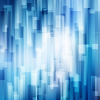 As linhas azuis abstratas sobrepõem o conceito brilhante da tecnologia do fundo do movimento do negócio da camada. vetor
