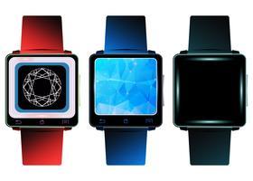 Relógio inteligente vetor