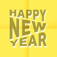 Feliz Ano Novo vetor