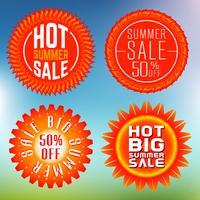 Selos de venda de verão, insígnias