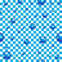 Gotas de água de fundo vetor
