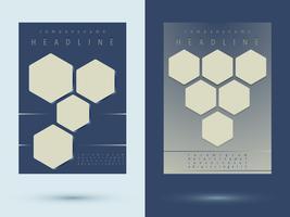 Brochuras flyer design vetor