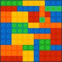 Quadrado de bloco de construção