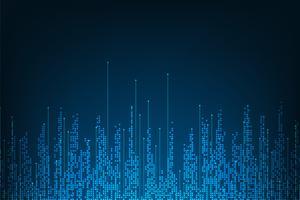 Projeto digital da tecnologia abstrata do fundo do vetor.