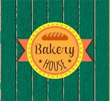 Coleção de logotipo de padaria retro vintage