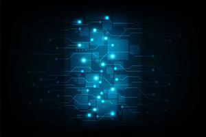 Vector rede de tecnologia de comunicação.