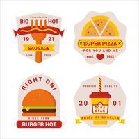 Premium Quality Fastfood Badge