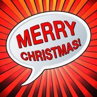 Feliz natal feriado vetor