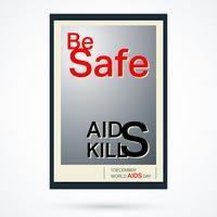 Cartaz de fita de AIDS