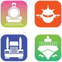 Ícone de aplicativos vetor