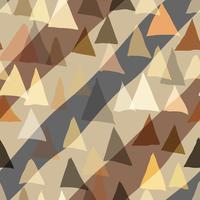 Fundo sem emenda do triângulo de cor. vetor