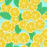 Padrão de limão vetor