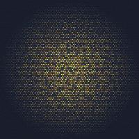 Fundo abstrato com design de ouro vetor