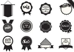 Pacote Vector de Badge de Negócios