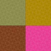 padrões de vetores de linhas onduladas