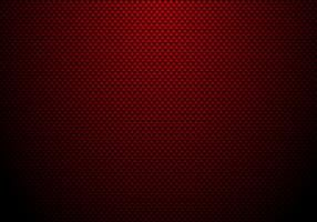 Fundo e textura vermelhos da fibra do carbono com iluminação. Papel de parede de material para afinação de carro ou serviço. vetor
