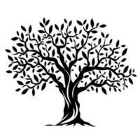 vetor de árvore