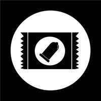 ícone do preservativo vetor