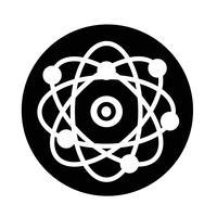 ícone do átomo vetor