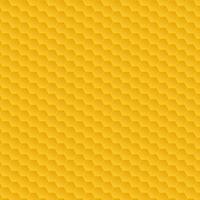 Padrão de favo de mel amarelo vetor