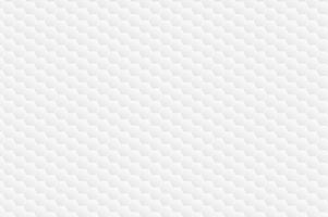 Padrão branco hexagonal vetor