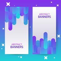 Capas com padrão geométrico. Planos de fundo coloridos. Aplicável para banners, cartazes, cartazes, panfletos. vetor