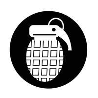 Ícone de bomba vetor