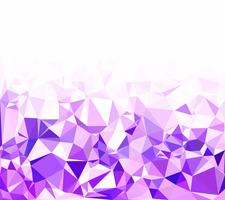 Fundo roxo mosaico poligonal, modelos de Design criativo vetor