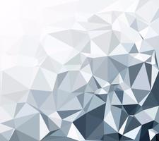 Fundo branco poligonal cinza, modelos de Design criativo vetor