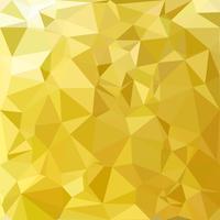 Fundo do mosaico poligonal amarelo, modelos de Design criativo vetor