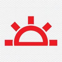 Ilustração em vetor ícone tempo