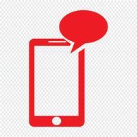ilustração em vetor ícone smartphone