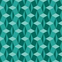 Fascinante padrão de geometria isométrica vetor