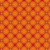 Elegante oriental padrão vetor