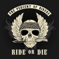Dirija ou morra vetor