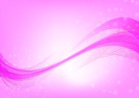 Abstrato onda rosa cor de fundo com ilustração em vetor espaço cópia