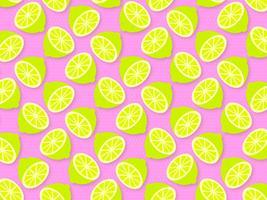 Vetor de fundo moderno pop verão limão