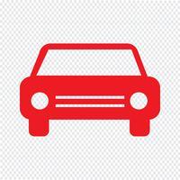 Ilustração em vetor ícone carro