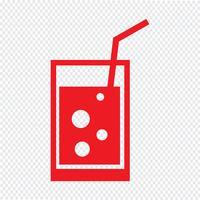 Beber icon ilustração vetorial