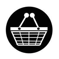 Ícone de compras vetor